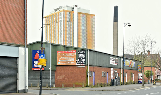 Gaffikin Street (proposed apartments) site, Belfast - March 2019(1)