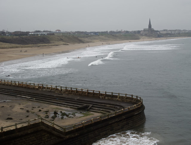 Towards Long Sands, Tynemouth