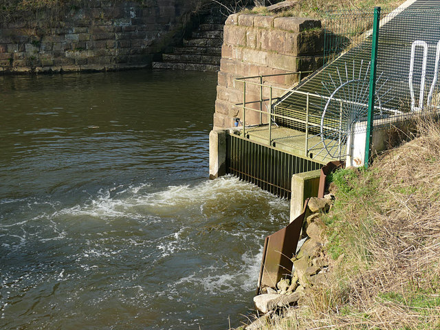 Cranage hydro power plant - detail