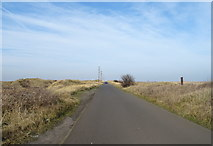 NZ5626 : Road towards South Gare by JThomas