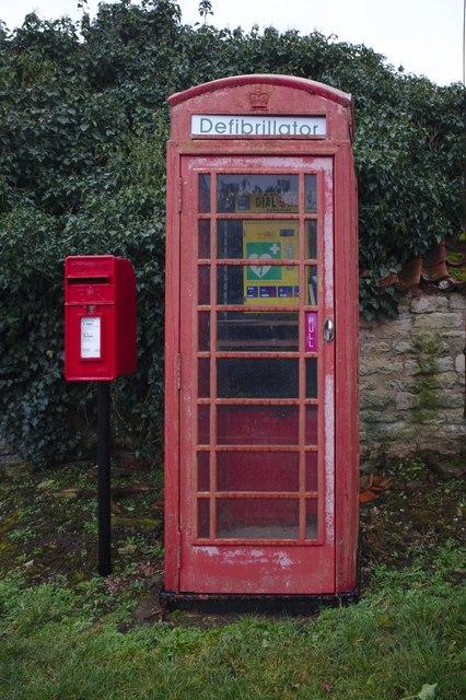 K6 phonebox and post box
