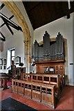 TM5286 : Kessingland, St. Edmund's Church: The organ by Michael Garlick