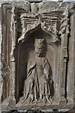 TM5286 : Kessingland, St. Edmund's Church: The font 2 by Michael Garlick