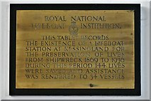 TM5286 : Kessingland, St. Edmund's Church: Wall plaque 3 by Michael Garlick