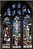 TL8866 : Great Barton: Holy Innocents Church: Stained glass window by Michael Garlick