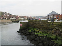 NZ8911 : Whitby harbour by Malc McDonald