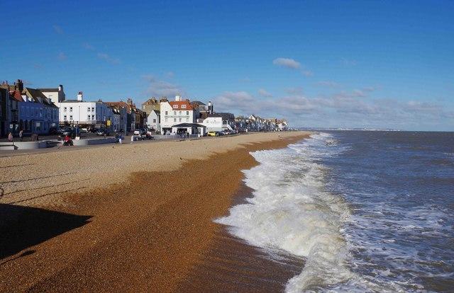 The beach at Deal, Kent