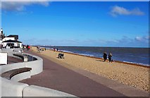 TR3752 : The front at Deal, Kent by P L Chadwick