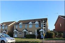 TL7105 : Houses on Princes Road, Moulsham by David Howard