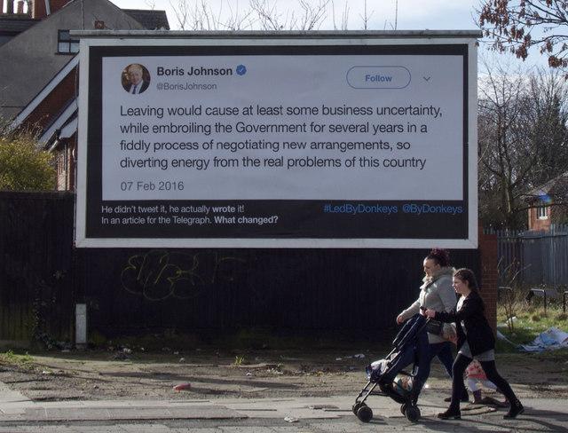 Advertising hoarding, Hull