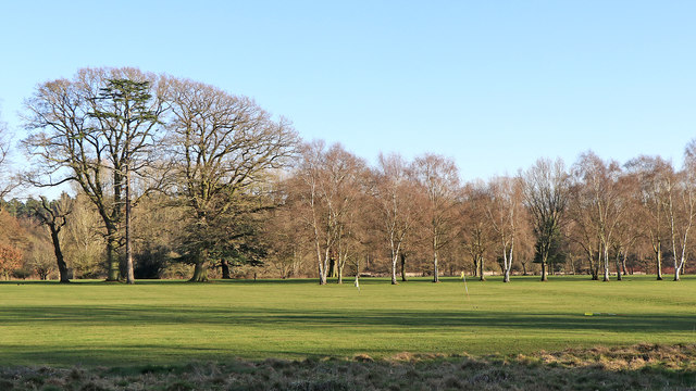 Golf Course in Patshull Park, Staffordshire