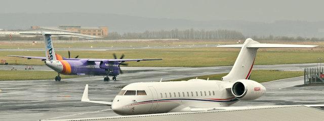 N805WM, Belfast City Airport (March 2019)