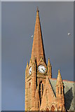 NS2059 : Clock Tower at St. Columba's Parish Church, Largs by Billy McCrorie