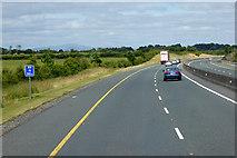 S7271 : M9 Motorway towards Junction 5 by David Dixon