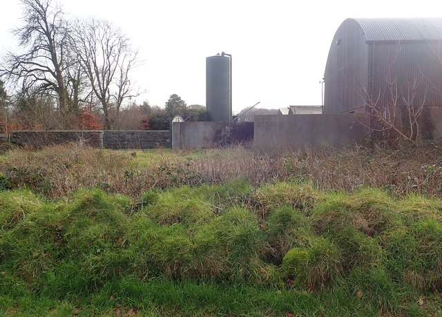 Farm buildings at the Wood Road/Ballintemple Road cross roads