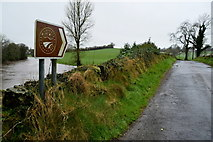 H4869 : Sign for the Marshall Trail, Edenderry Road by Kenneth  Allen