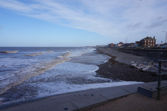 Sea front, Thornton - Cleveleys
