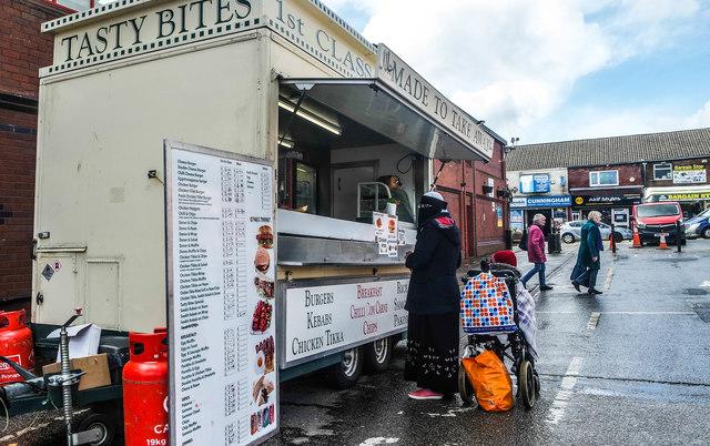 Snack Van, Oldham Market