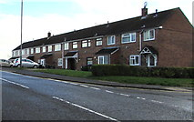 ST2896 : Row of six houses, Mount Pleasant Road, Cwmbran by Jaggery