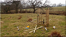 SE6197 : A tree guard in the making by Mick Garratt