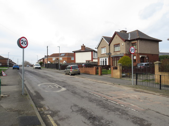 Whinney Banks Road, Middlesbrough