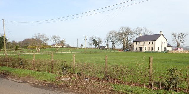 Detached housing near the junction of Aghadavoyle Road and Dromintee Road