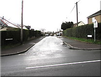ST2896 : South along Clark Avenue, Cwmbran by Jaggery
