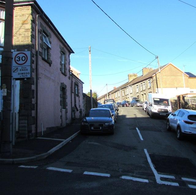 In Abercynon Rhondda Cynon Taf: Up North Street, Abercynon © Jaggery :: Geograph Britain