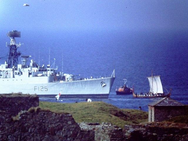 HMS Mohawk meets Odin's Raven