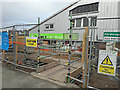 NG6423 : Broadford Co-op - the way in by Richard Dorrell