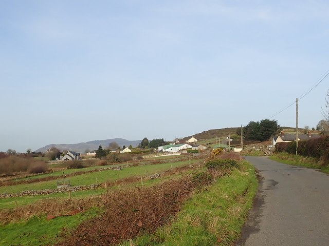 Linear settlement along the Foughilletra Road