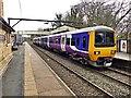 SJ9893 : Northern class 323 EMU at Broadbottom Station by Graham Hogg