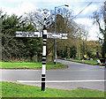 SU9094 : Bucks County Signpost at Potter's Cross by Des Blenkinsopp