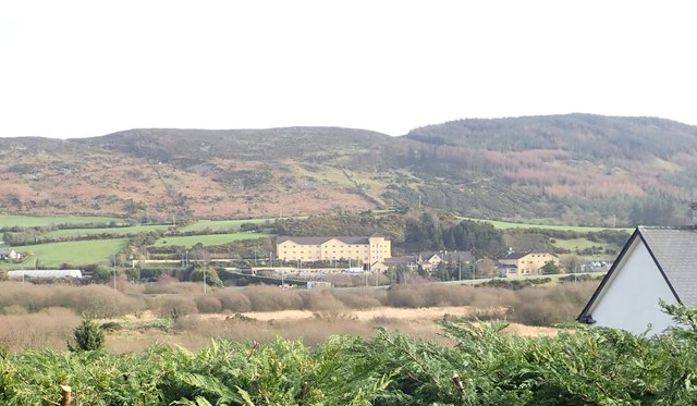The Carrickdale Hotel and Spa viewed across the Armagh/Louth border