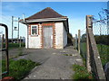 SO7213 : Westbury-on-Severn Telephone Exchange by David Hillas
