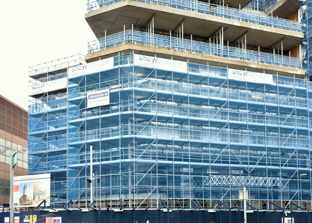 The Ulster University site, Belfast  - March 2019(2)