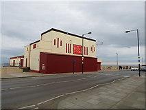 NZ6025 : Regent Cinema, Redcar seafront by Malc McDonald