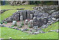 SD4762 : Roman Bath House at Vicarage Field, Lancaster by Mat Fascione