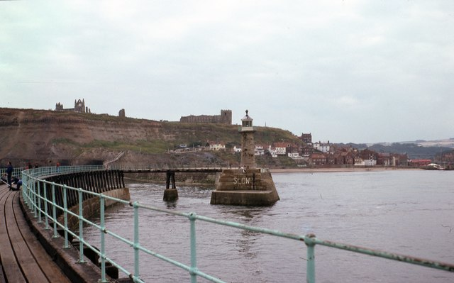 From Whitby East Pier