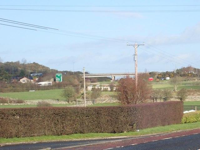 The Dublin Road fly-over
