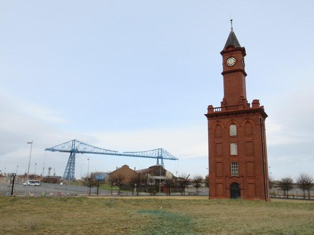 Middlesbrough dock clock tower