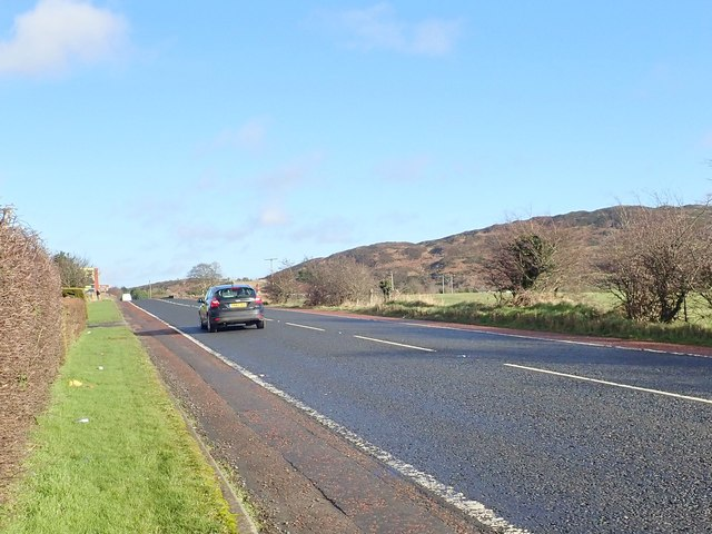 The B113 (Dublin Road) approaching Killeen Bridge