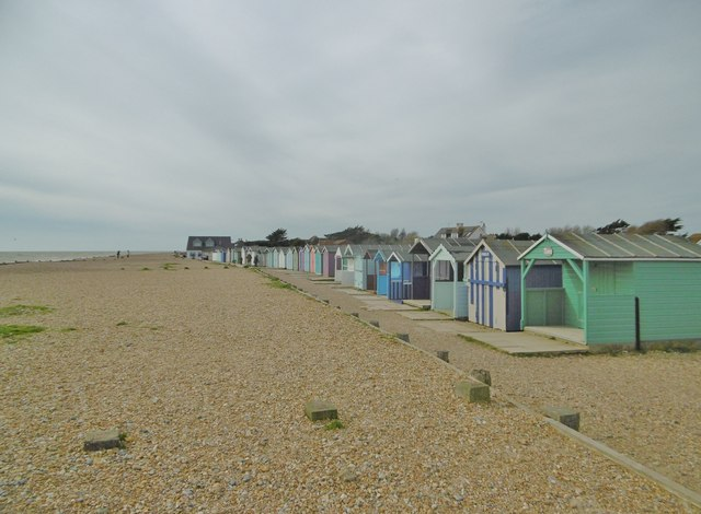Ferring, beach huts