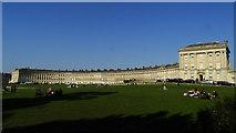 ST7465 : Bath - Royal Crescent by Colin Park