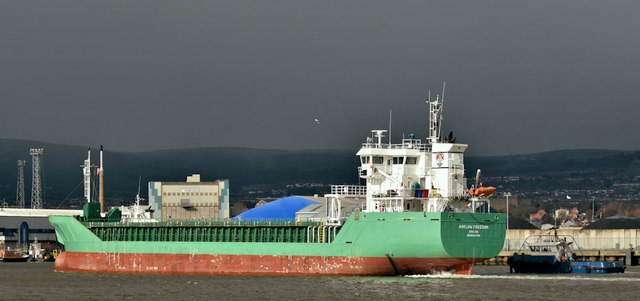 """The """"Arklow Freedom"""", Belfast (March 2019)"""