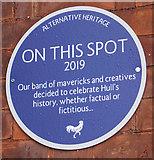 TA0928 : Alternative Heritage Blue Plaque by Ian S