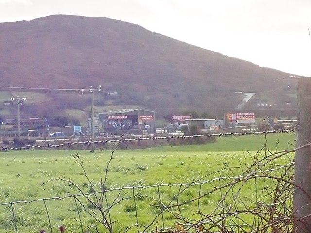 Firework Factory on the Border
