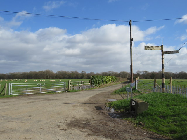 Country lanes near Pratts Bottom