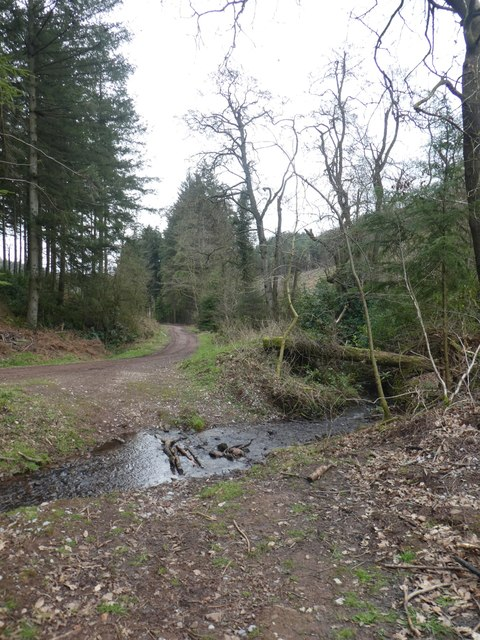 Ford for a path in Ramscombe