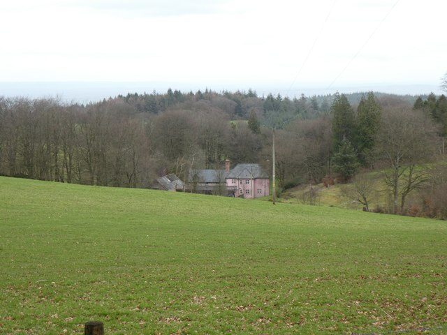 Great Quantock Farm seen from the Drove Road